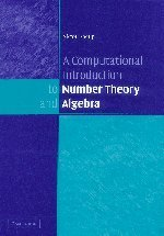 A Computational Introduction to Number Theory and Algebra (Hardcover)-cover