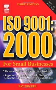 ISO 9001: 2000 For Small Businesses, 3/e (Paperback)-cover