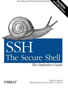 SSH, The Secure Shell: The Definitive Guide, 2/e (Paperback)-cover