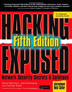 Hacking Exposed: Network Security Secrets & Solutions, 5/e (Paperback)-cover