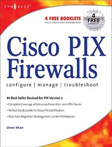 Cisco PIX Firewalls, 2/e-cover