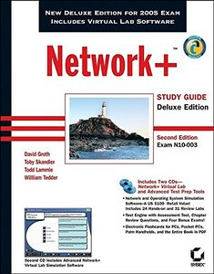 Network+ Study Guide (Exam N10-003) ,Deluxe Edition, 2/e (Hardcover)-cover