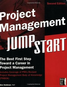Project Management JumpStart, 2/e-cover