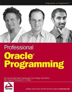Professional Oracle Programming-cover
