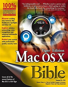 Mac OS X Bible, Tiger Edition-cover