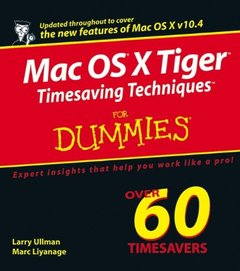 Mac OS X Tiger Timesaving Techniques For Dummies (Paperback)-cover
