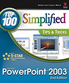 PowerPoint 2003: Top 100 Simplified Tips & Tricks, 2/e-cover