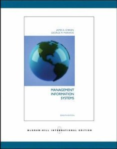 Management Information Systems, 7/e-cover
