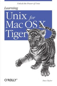 Learning Unix for Mac OS X Tiger (Paperback)-cover