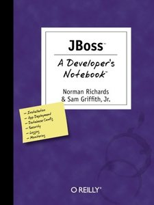 JBoss : A Developer's Notebook-cover