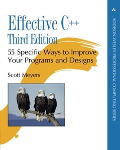 Effective C++ : 55 Specific Ways to Improve Your Programs and Designs, 3/e (Paperback)(美國原版)-cover