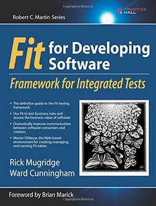 Fit for Developing Software : Framework for Integrated Tests-cover