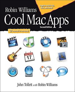 Robin Williams Cool Mac Apps: A guide to iLife 05, .Mac, and more, 2/e-cover