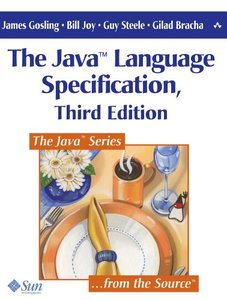 The Java Language Specification, 3/e (Paperback)-cover