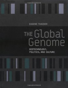 The Global Genome : Biotechnology, Politics, and Culture (Hardcover)-cover