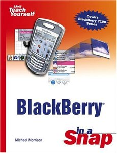 BlackBerry in a Snap-cover