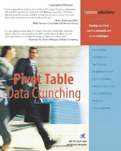 Pivot Table Data Crunching-cover