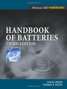 Handbook Of Batteries, 3/e-cover