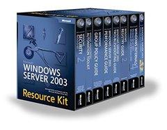 Microsoft Windows Server 2003 Resource Kit-cover
