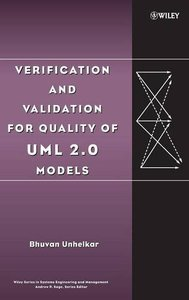 Verification and Validation for Quality of UML 2.0 Models-cover