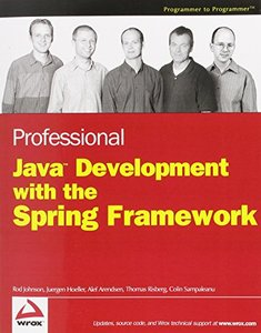 Professional Java Development with the Spring Framework (Paperback)-cover