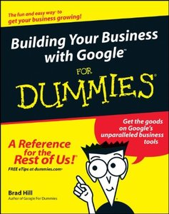 Building Your Business with Google For Dummies-cover