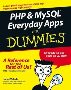 PHP & MySQL Everyday Apps For Dummies-cover