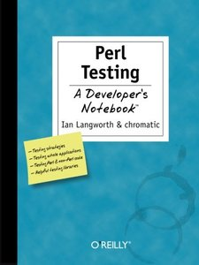 Perl Testing: A Developer's Notebook-cover