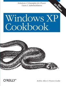 Windows XP Cookbook-cover