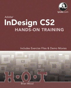 Adobe InDesign CS2 Hands-On Training-cover
