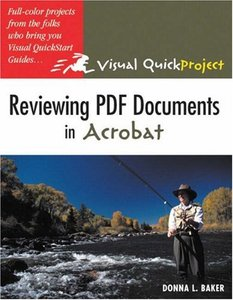 Reviewing PDF Documents in Acrobat: Visual QuickProject Guide-cover