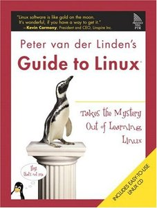 Peter van der Linden's Guide to Linux-cover