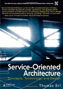 Service-Oriented Architecture: Concepts, Technology, and Design(Hardcover)-cover
