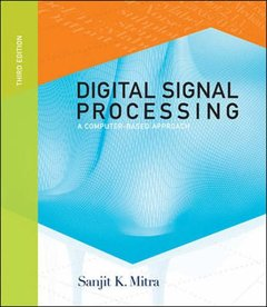 Digital Signal Processing: A Computer Based Approach, 3/e (IE) (美國版ISBN:0072865466)-cover