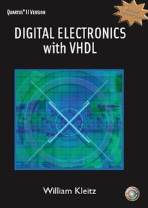 Digital Electronics with VHDL (Quartus II Version) (Hardcover)-cover