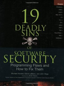 19 Deadly Sins of Software Security-cover