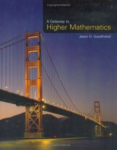 A Gateway to Higher Mathematics (Hardcover)-cover