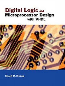 Digital Logic and Microprocessor Design with VHDL (Hardcover)-cover