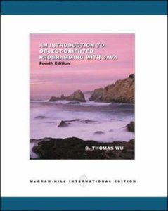 An Introduction to Object-Oriented Programming With Java, 4/e-cover