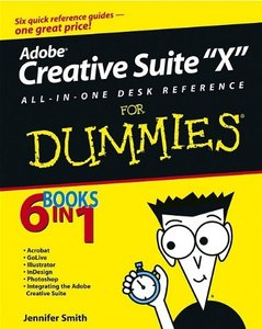 Adobe Creative Suite 2 All-in-One Desk Reference For Dummies (Paperback)-cover