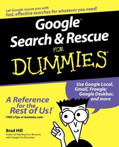 Google Search & Rescue For Dummies (Paperback)-cover