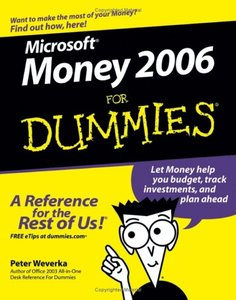 Microsoft Money 2006 For Dummies-cover