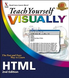 Teach Yourself VISUALLY HTML, 2/e (Paperback)-cover