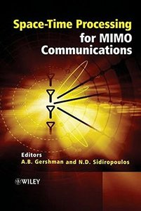 Space-Time Processing for MIMO Communications-cover
