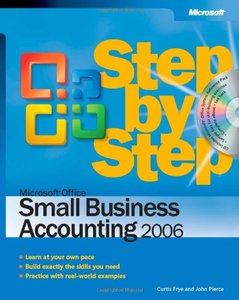 Microsoft Office Small Business Accounting 2006 Step by Step (Paperback)-cover