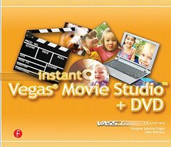 Instant Vegas Movie Studio +DVD-cover
