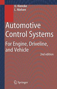 Automotive Control Systems: For Engine, Driveline, and Vehicle, 2/e (Hardcover)-cover