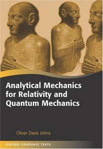 Analytical Mechanics for Relativity And Quantum Mechanics (Hardcover)-cover