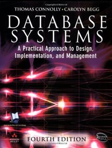 Database Systems: A Practical Approach to Design, Implementation and Management, 4/e-cover
