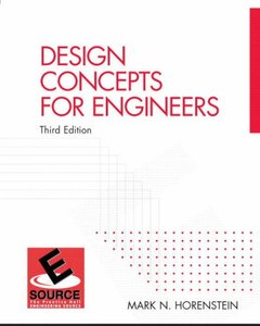 Design Concepts for Engineers, 3/e (Paperback)